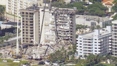 Building Collapse Miami