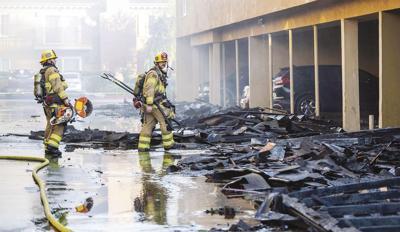 California Apartment Fire