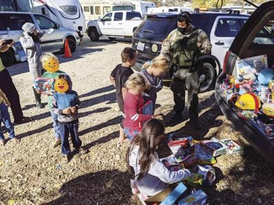 Deputy Toy Distribution Agua Dulce