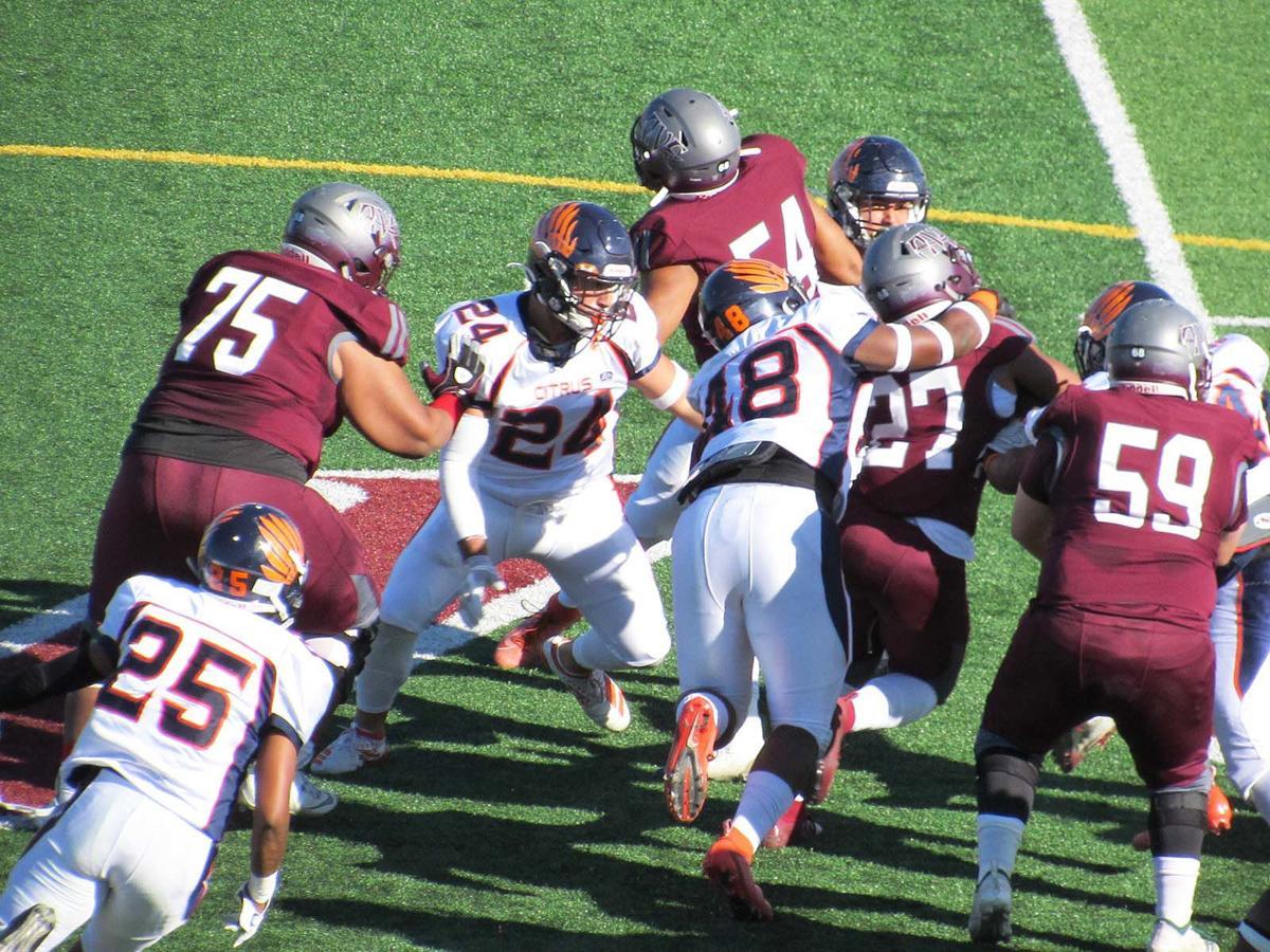 AVC running back Jaylen O'Neil