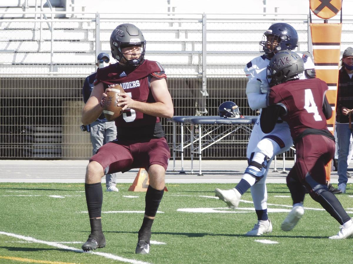 Antelope Valley College quarterback Caden Hinton
