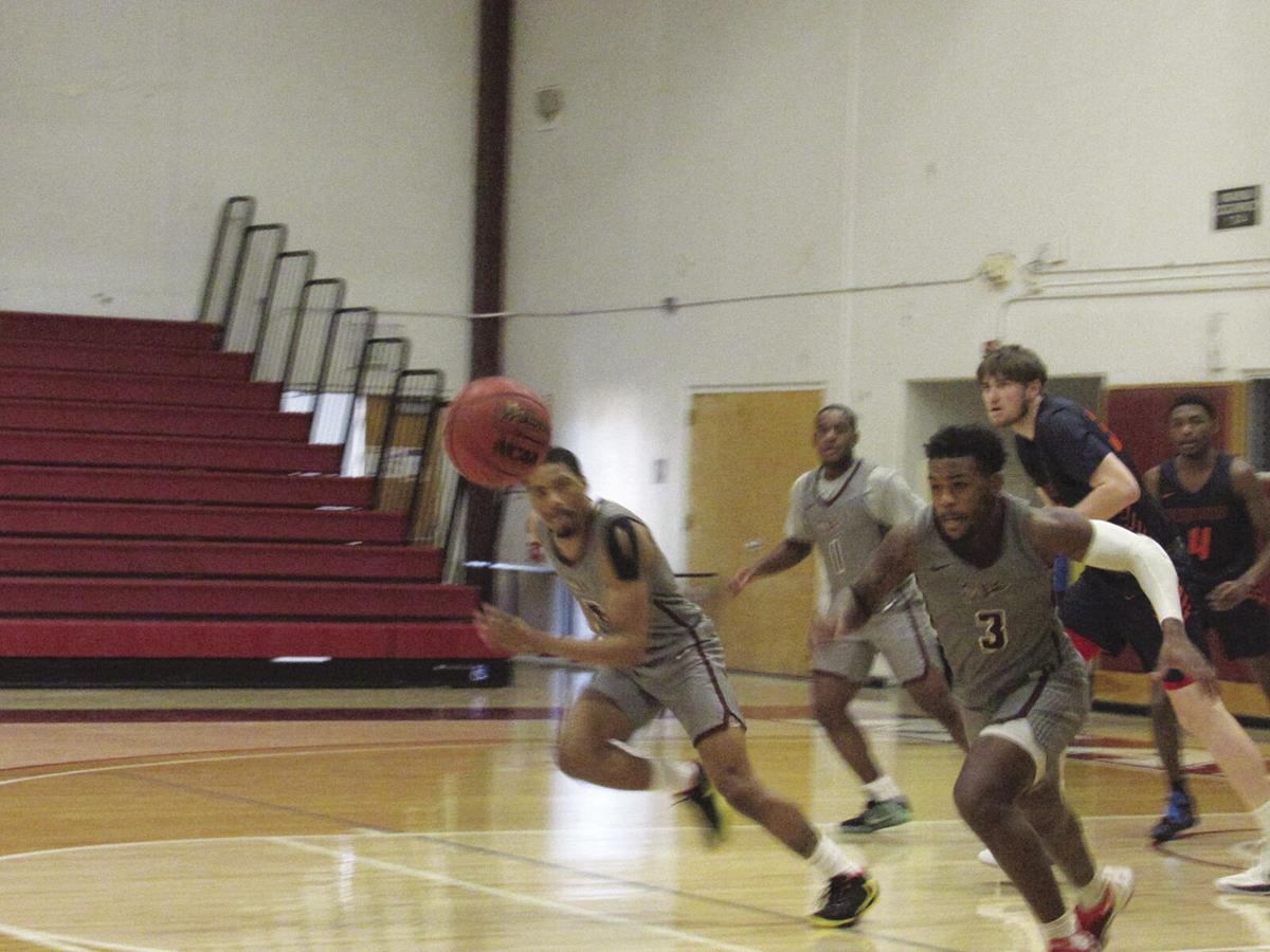Antelope Valley College freshman point guard Stephen Perry