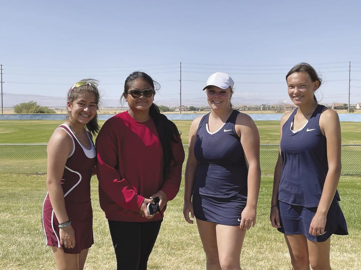 Girls Tennis Doubles Finals