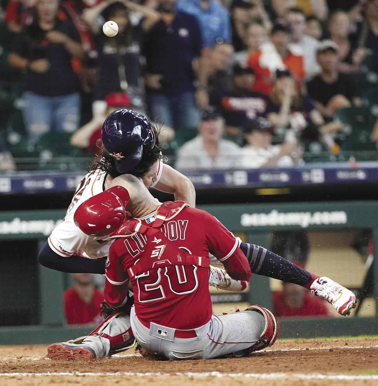 Angels Astros Baseball