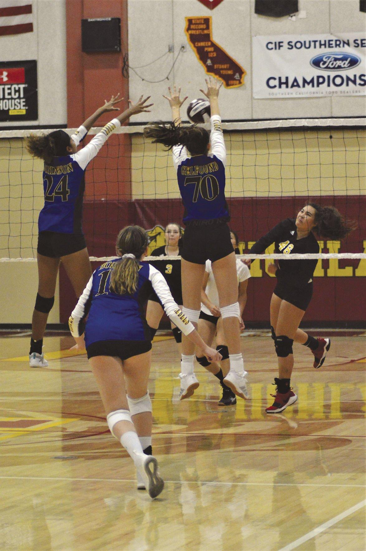 Quartz Hill girls volleyball