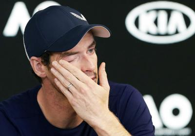 APTOPIX Australian Open Tennis Murray