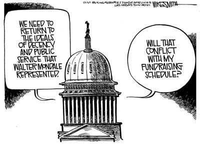 Editorial cartoon, April 26, 2021