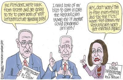 Editorial Cartoon, July 21, 2021