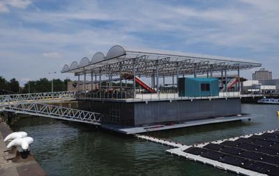 Netherlands Floating Farm