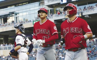Angels Twins Baseball