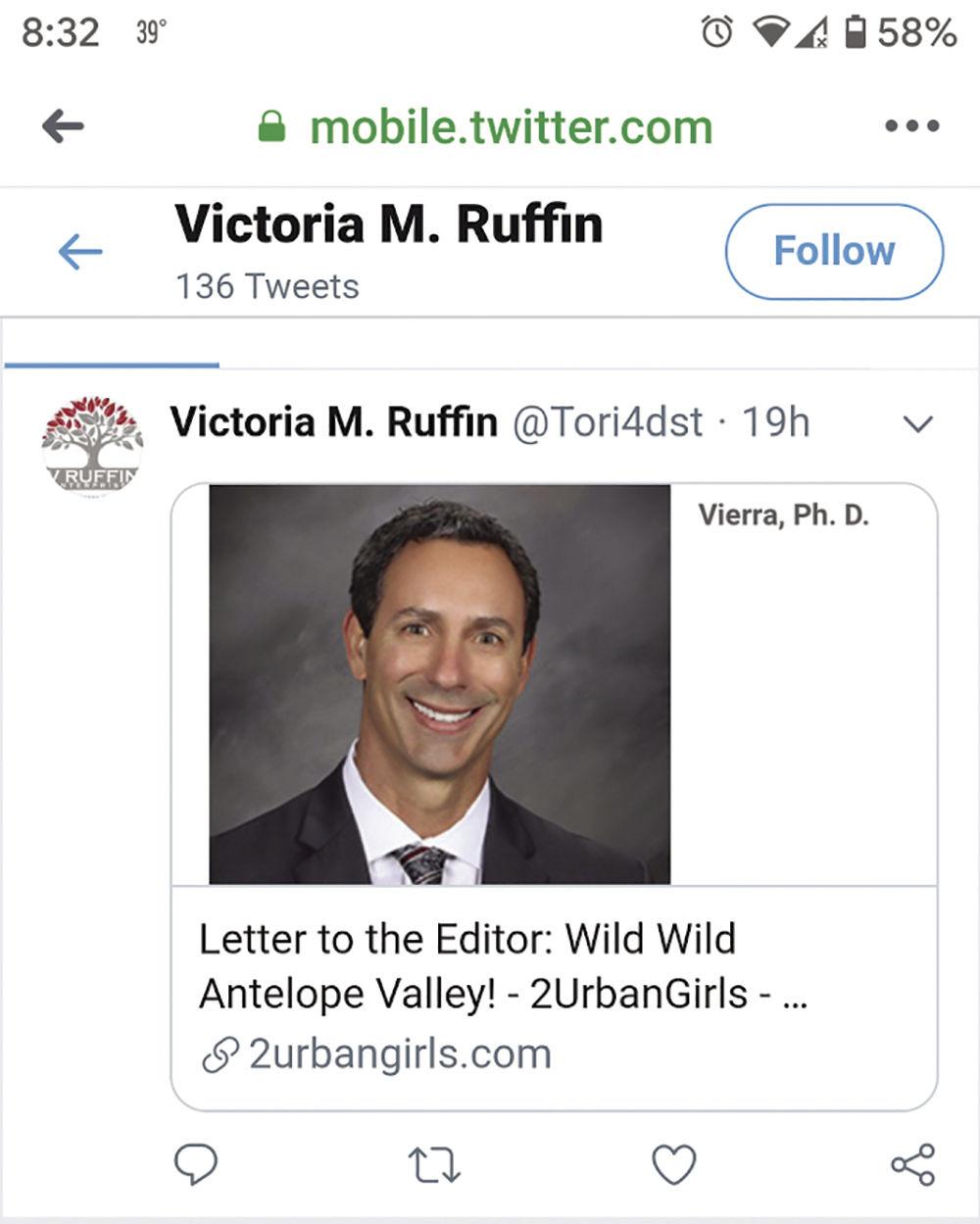 Ruffin tweet