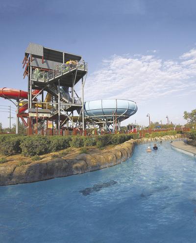 DryTown tower slide