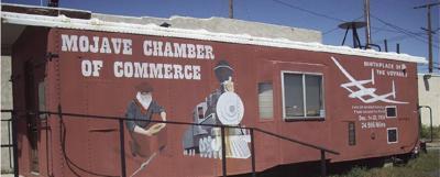 Mojave Chamber caboose