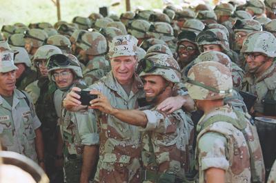 George HW Bush Humanitarian