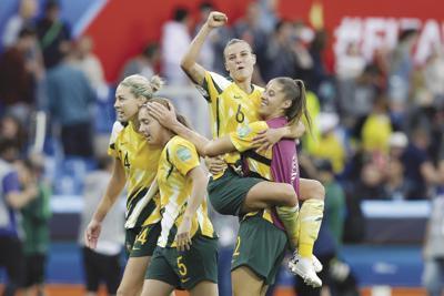 France Brazil Australia WWCup Soccer