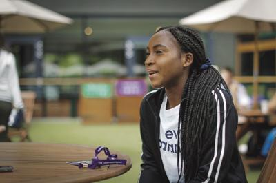Wimbledon Tennis Gauff Looks Ahead