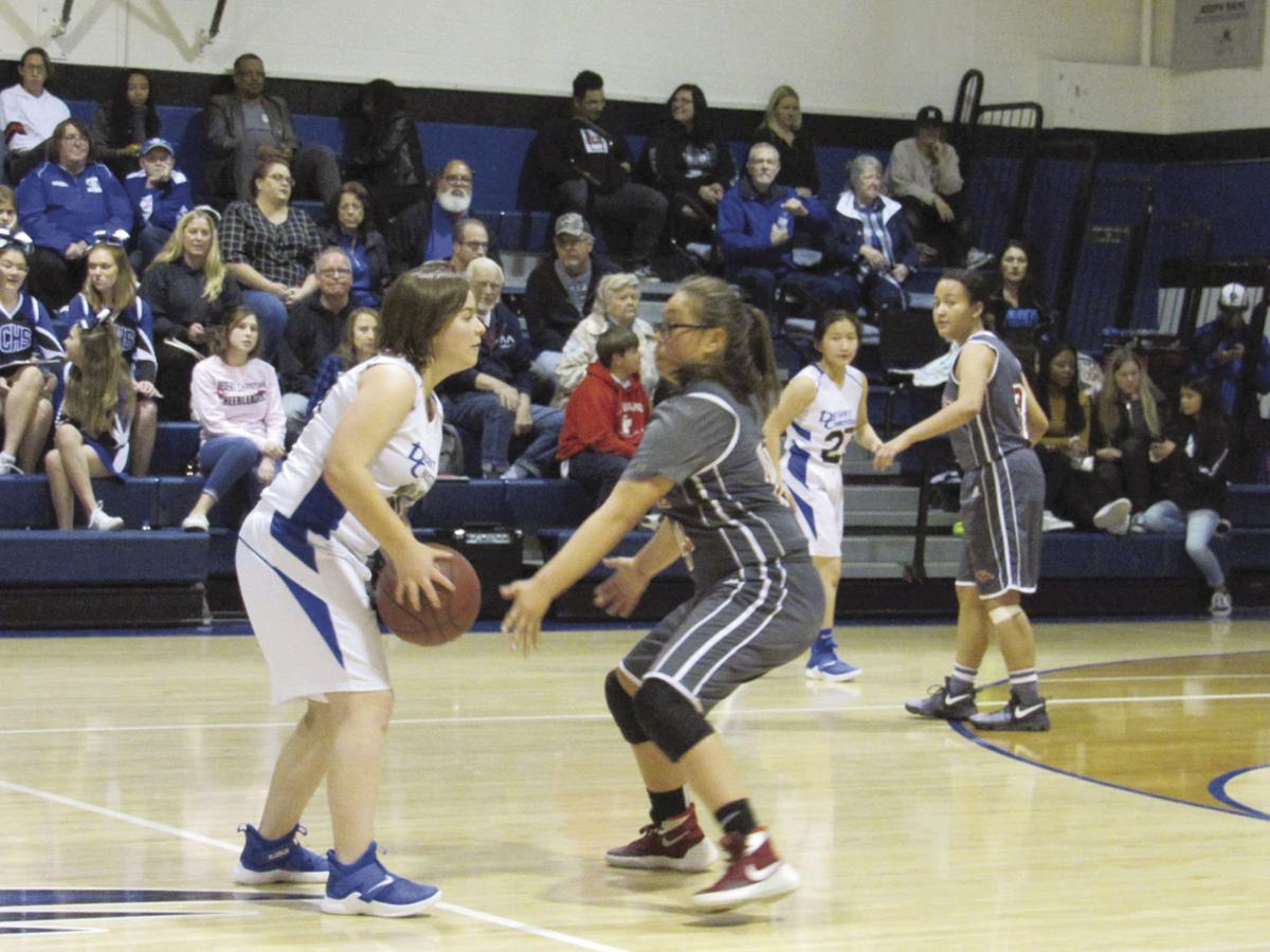 Desert Christian girls basketball