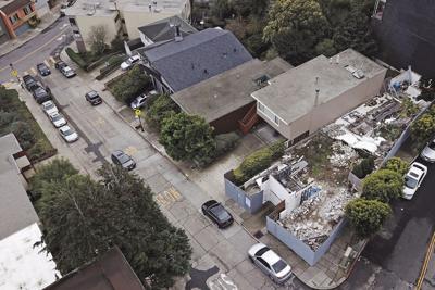 Landmark House Destroyed