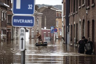 Germany Belgium Climate Floods