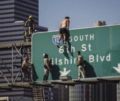Freeway Sign Rapper