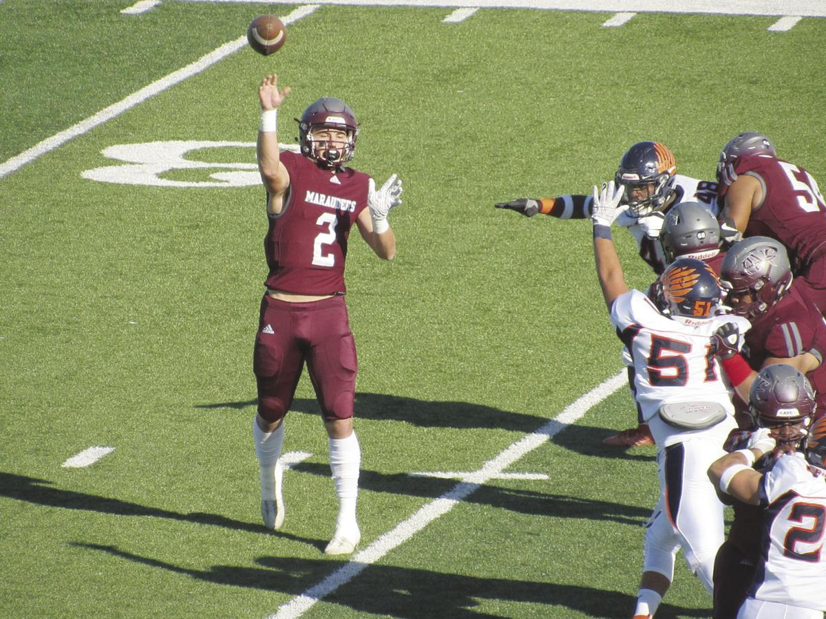 Antelope Valley College quarterback Tyler Selvig