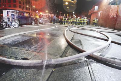 Subway Fire New York