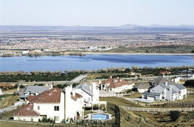 Palmdale City overview