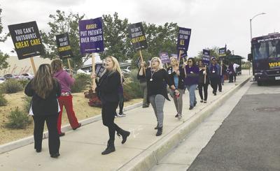 Kaiser workers make voices heard | News | avpress com