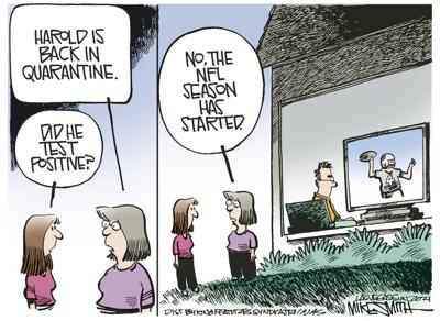 Editorial cartoon, Sept. 14, 2021
