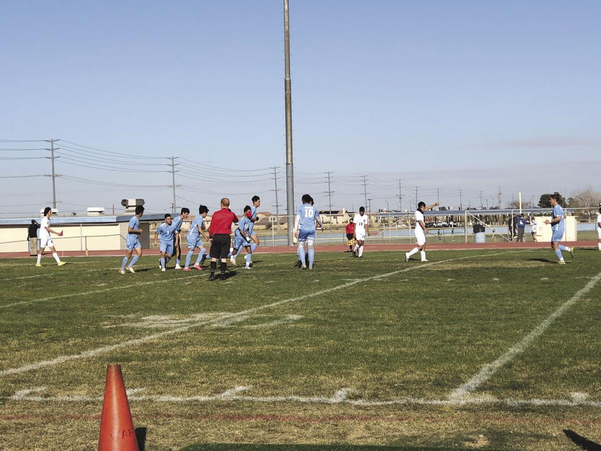 Quartz Hill-Eastside boys soccer