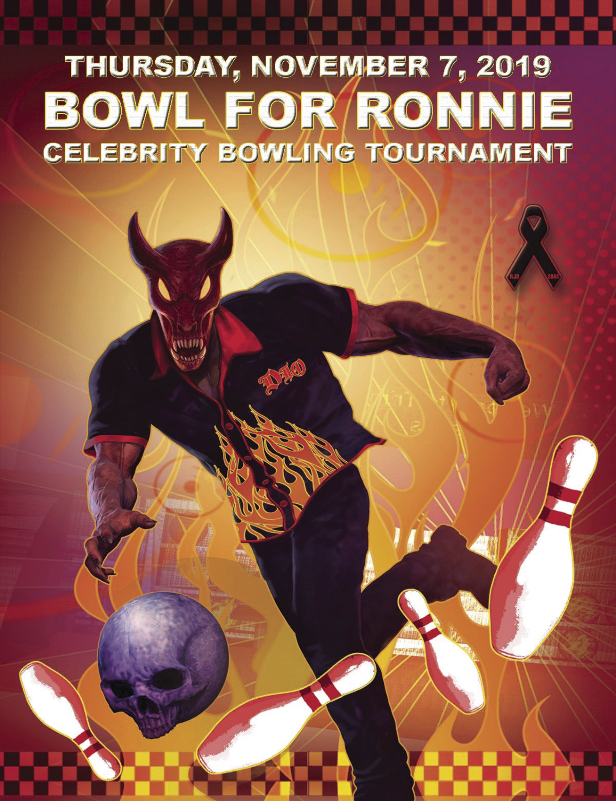Bowl For Ronnie