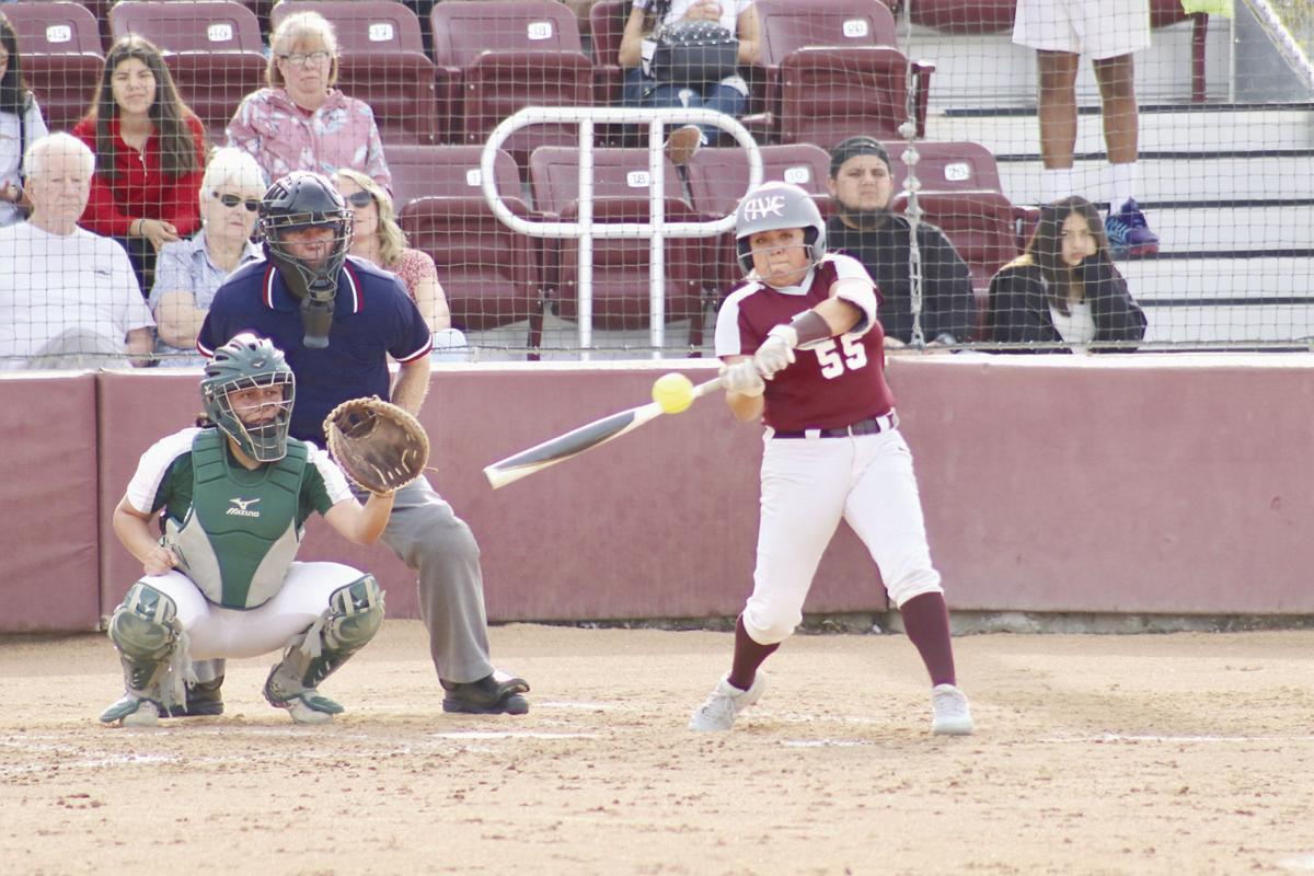 Antelope Valley College softball player Maritza Arroyo