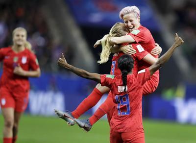 APTOPIX France US Thailand WWCup Soccer