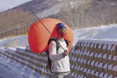 Virus Outbreak Backcountry Skiing