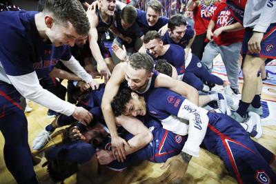 APTOPIX WCC St Marys Gonzaga Basketball