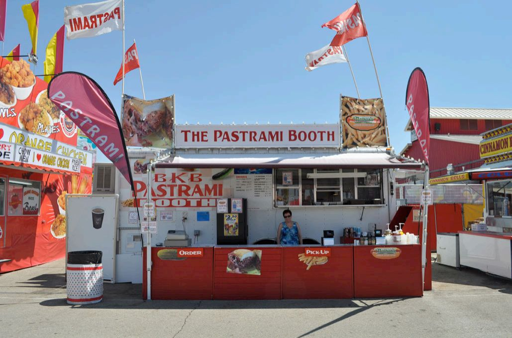 BKB Pastrami Booth