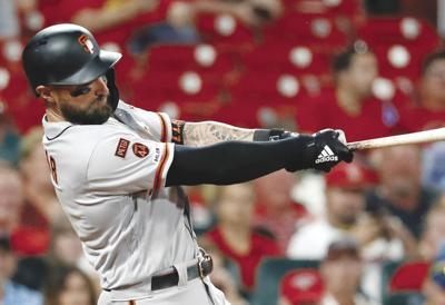 Giants Moves Baseball