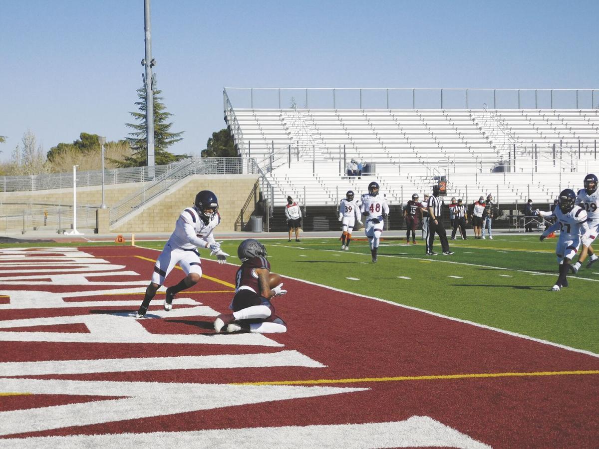 Antelope Valley College wide receiver Davon Jones