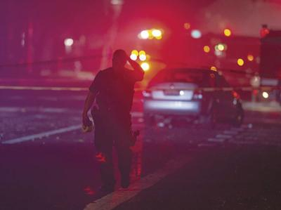 APTOPIX Officer Shot