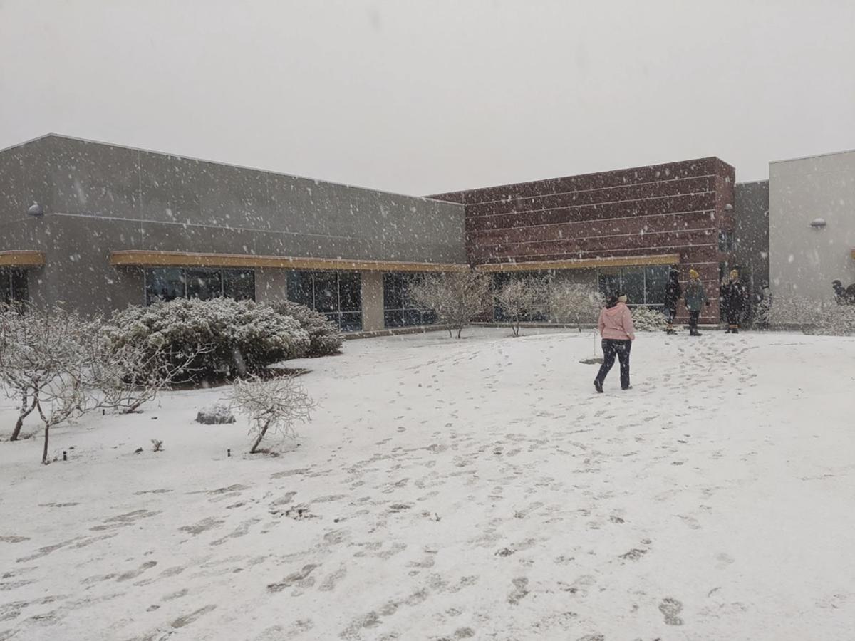 YMCA snow