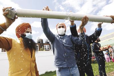Virus Outbreak Sikh Holiday