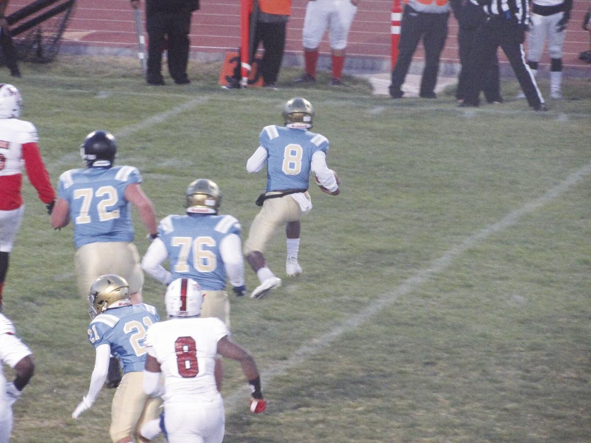 Quartz Hill junior quarterback Chalin Crawford