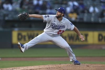 Dodgers Athletics Baseball