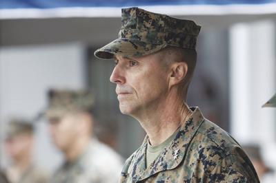 Marine Corps General Relieved