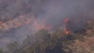 So far this year, five brush fires scorched about 5,000 acres total near Wittmann.