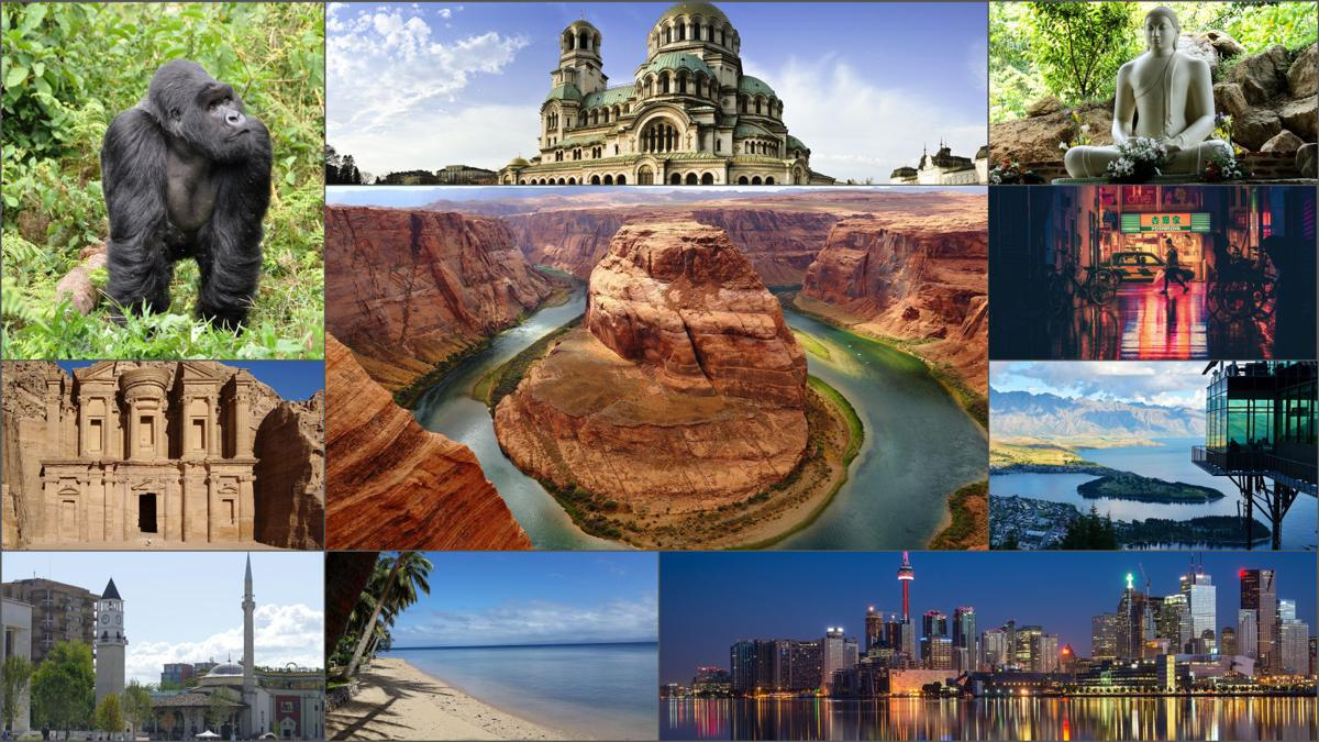 Beautiful destinations for 2019