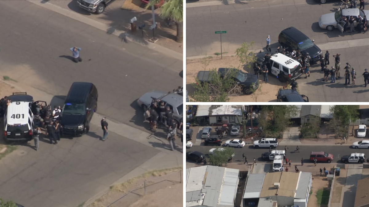 Police situation in east Mesa