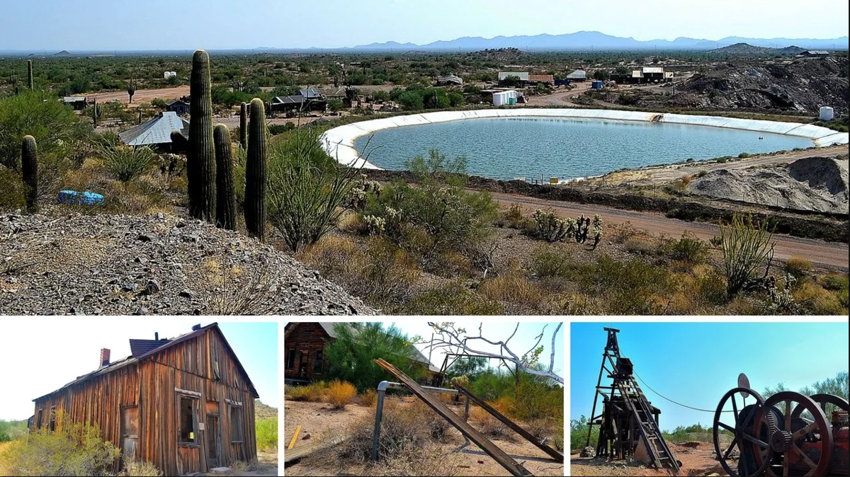 The ghost town of Vulture City