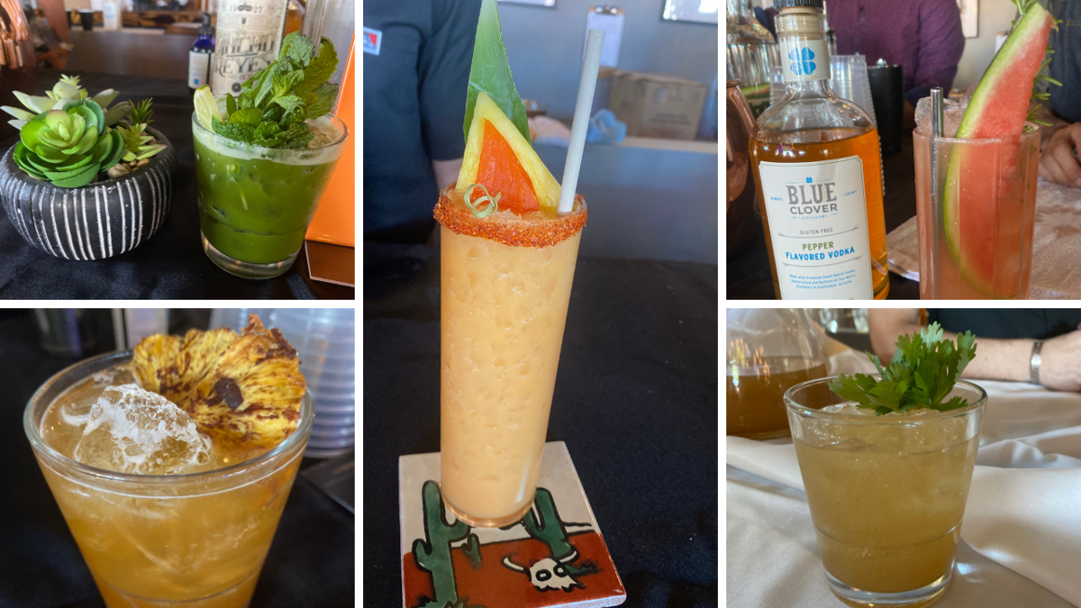 Hatch chile event at Blue Clover Distillery cocktail contest