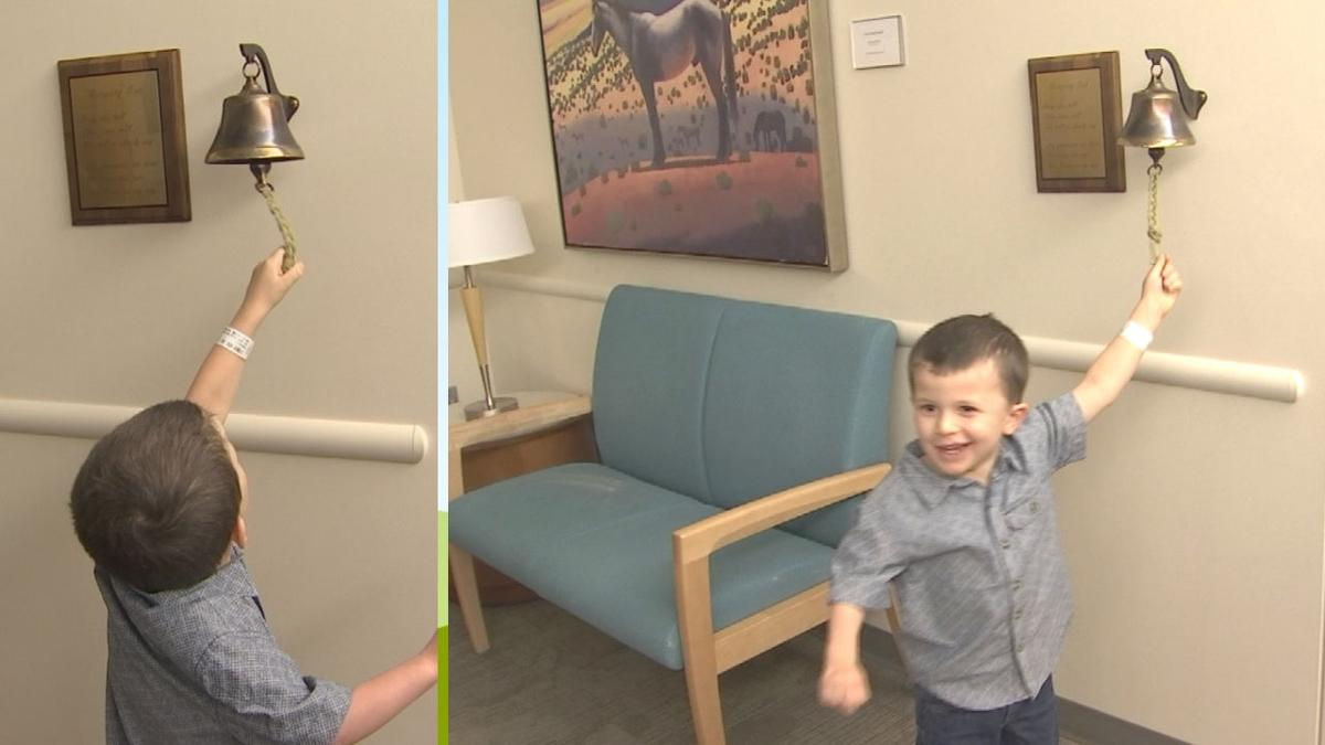 Young patient completes groundbreaking treatments